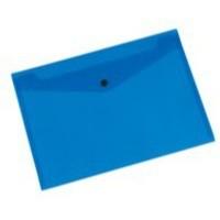 Q-Connect Document Folder Polypropylene A4 Blue (Pk 12)