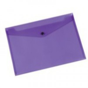 Q-Connect Document Folder Polypropylene A4 Purple KF03598