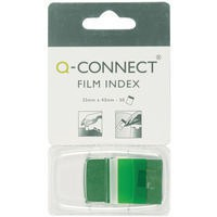 Q-Connect Page Marker 1 inch Pack of 50 Green