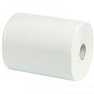 2work Mini Centre Feed Roll 1-Ply 120 Metre Pack of 12 KF03784 C1W120