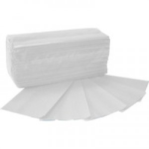 2Work Hand Towel 1-Ply White Pack of 2955 HT8325