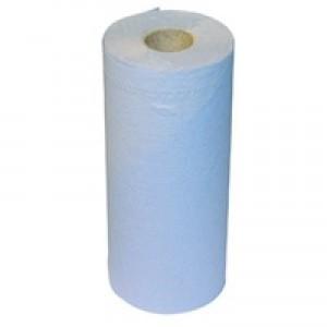 2work Hygiene Roll Blue 20 inch Pack of 12 HR2540