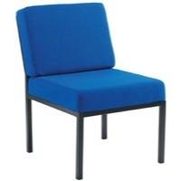 Jemini Reception Chair Royal Blue
