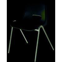 Sirius Stacking Chair Polypropylene Blue