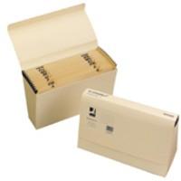 Q-Connect Expanding File 1-31 31-Pocket Cream