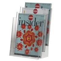 Q-Connect Literature Holder Three Pockets