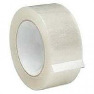 Q-Connect Low-Noise Packaging Tape Clear KF04382