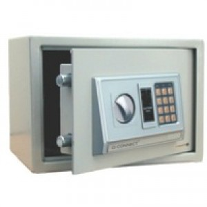 Q-Connect Electronic Safe 10 Litre H200xW310xD200mm KF04390