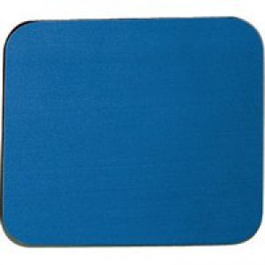 Fellowes Economy Mousepad Rubber Sponge backing and Non-slip Base Blue Ref 29700