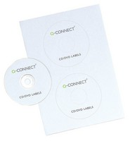 Q-Connect Full Face CD Label Pack of 50