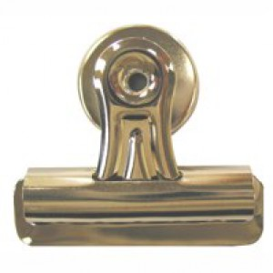 Q-Connect Heavy Duty Magnetic Bulldog Clip Pack of 2 Silver 794944