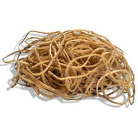 Q-Connect Rubber Bands 500gm Number 19