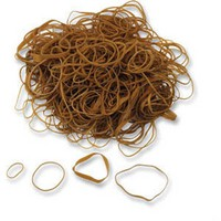 Q-Connect Rubber Bands 100gm Assorted