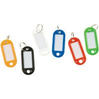 Q-Connect Key Hangers Assorted Pack of 100