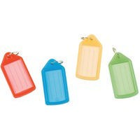 Q-Connect Sliding Key Fob Medium Assorted Pack of 50
