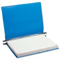 Q-Connect Print-Out Binder 260x305mm Blue Pk 6