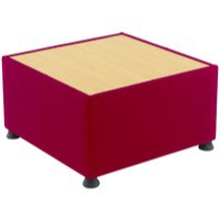 Arista Modular Reception Coffee Table Claret