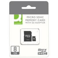 Qconnect 8Gb Micro Sd Card Kf16011 Pk1