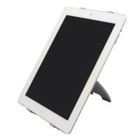 Q-Connect iPad Stand Silver/Black/White