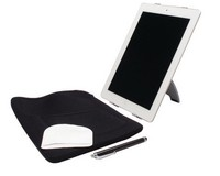 Q-Connect iPad Starter Kit Silver/Black/White