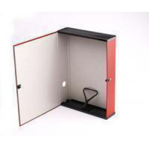 Q-Connect Box File Foolscap Red