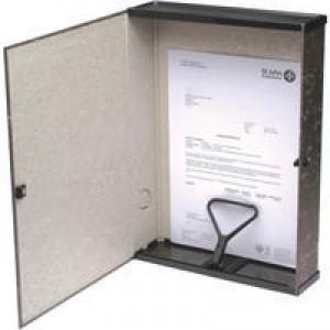 Q-Connect Box File Foolscap Black (Pk 5) 31815KIN0