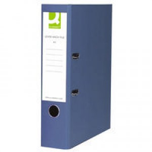 Q-Connect Lever Arch File A4 Polypropylene Blue KF20020