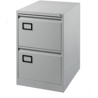 Jemini 2-Drawer Filing Cabinet Pearl Grey