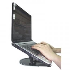 Q-Connect Aluminium Laptop Stand Black KF20077
