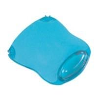 Q-Connect Clear Gel Mouse Mat Blue
