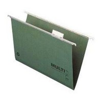 Q-Connect Suspension File Tabbed Foolscap Pack of 50