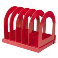 Q-Connect Book Rack Red