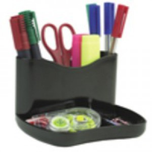 Q-Connect Executive Pen Tray Black
