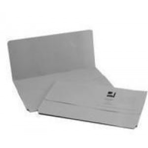 Q-Connect Document Wallet 285gsm Foolscap Grey