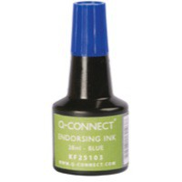 Q-Connect Endorsing Ink 28ml Blue