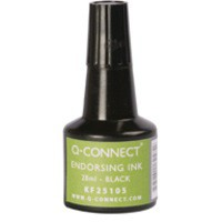 Q-Connect Endorsing Ink 28ml Black