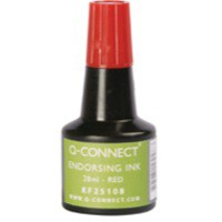 Q-Connect Endorsing Ink 28ml Red