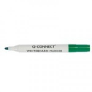Q-Connect Drywipe Marker Green KF26009