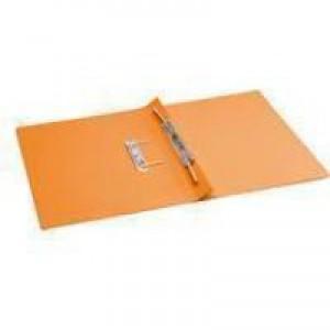Q-Connect Transfer File Foolscap/A4 35mm Capacity Orange