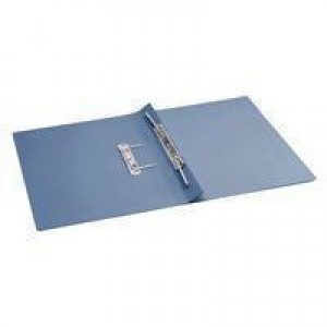 Q-Connect Transfer File Foolscap/A4 35mm Capacity Blue