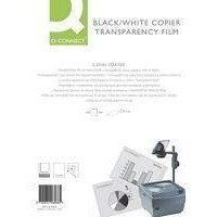Q-Connect OHP PPC Film Clear 100micron Pk 100