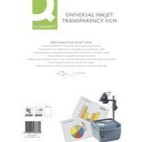 Q-Connect OHP Inkjet Film Universal Pack of 50