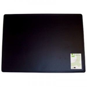 Q-Connect Desk Mat 400x530mm Black KF26802