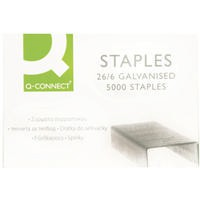 Q-Connect Staples 26/6 Pack of 5000