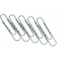 Q-Connect Paperclip 77mm Round Wavy Pack of 100
