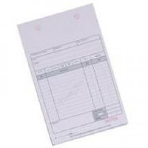 Q-Connect Counter Sales Receipt 2-Part Pack of 100 KF32108