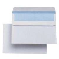 Q-Connect Envelope C6 Low Window 90gsm White Self-Seal Pack of 1000