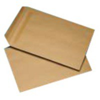 Q-Connect Envelope 254x178mm/10x7 inch 115gsm Manilla Self-Seal Pk 250