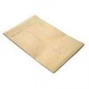 Q-Connect Gusset Envelope 305x254x25mm / 12x10x1 inch Manilla Peel and Seal Pack of 100 KF3526