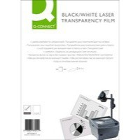 Image for Q-Connect OHP Laser Printer Film A4 Pk50